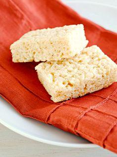 A Healthful Gluten-Free Life: Vegan Crispy Rice Treats