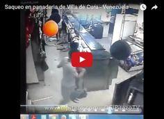 Mini-saqueo a una panadería en Villa de Cura Un saqueo en pequeña escala se produjo en el municipio Zamora en Villa de Cura estado Aragua el viernes 28 de octubre día del paro nacional... http://www.facebook.com/pages/p/584631925064466