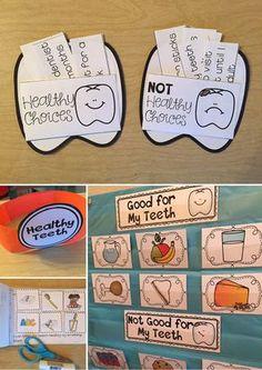 Dental Health activities for Kindergarten and First Grade--the interactive reader is my favorite!