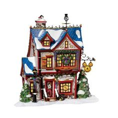 Amazon.com - Department 56 North Pole Scrooge McDuck and Marley's Counting House