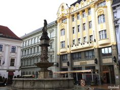 The top things to do in Bratislava Slovakia are in the charming old town of the city which has beautiful churches, quirky statues, gorgeous buildings [. Bratislava Slovakia, Old Town, Things To Do, Street View, Europe, City, Building, Top, Beautiful