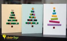 LEGO Christmas Cards