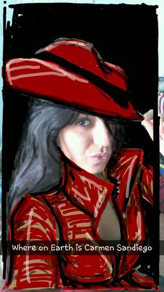 SnapChat Carmen San Diego Carmen Sandiego, Good Humor, My Spirit, Funny Things, I Laughed, Madness, Snapchat, San Diego, Funny Quotes
