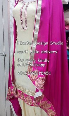 Punjabi Suits — for enquiry kindly send msg or call +917696015451, & for what,s up +917696015451 EMAIL: nivetasfashion@gmail.com  we can make any color combination we ship all over the world #punjabi #patiala #salwar #suit #boutique #dupatta #india #punjabi #fashion #party #wear #suits #boutique #suits , punjabi salwar suit in india, boutiques in india, #punjabi #fashion #punjab