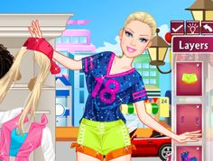 Skateboarding Barbie - Jocuri Barbie Barbie este o fata foarte activa si s-a decis azi sa faca skateboarding. Ea vrea sa fie tot timpul in forma, sa alerge, sa mearga cu bicicleta, sa joace golf, sa danseze salsa, sa se dea cu rolele sau sa se dea cu skateboardul.
