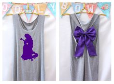 Rapunzel Tangled Disney Princess Tank Premium with by DollysBow