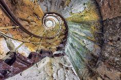 Escadas abandonadas por Christian Richter,© Christian Richters