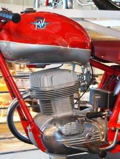 1954 MV Agusta CSS 175cc at BarberVintage Motorsports Museum