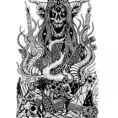 The Art of Skinner | Artwork | Ungoliant Shirt Design