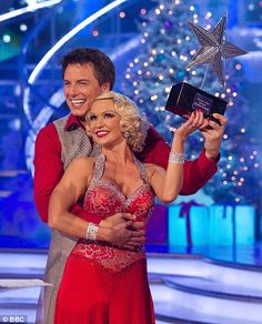 Christmas Special 2010 John Barrowman and Kristina Rihanoff Doctor Who, Kristina Rihanoff, John Barrowman, Strictly Come Dancing, Professional Dancers, Hallmark Movies, Captain Jack, Prom Dresses, Formal Dresses