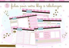 5 fiches pour organiser son blog, à télécharger | cessie.fr