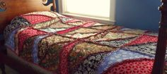 autumn crazy rag quilt