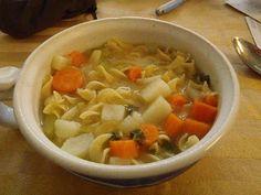 Buddy, Rachel, Revin, & Hazen: Dutch Oven Cooking & Chicken Noodle Soup