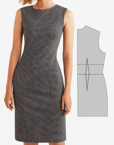 Source by formales Classy Work Outfits, Business Casual Outfits, Professional Outfits, Look Office, Office Looks, Morden Dress, Office Attire Women, Look Cool, Dress Patterns