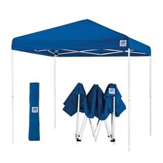 E Z UPR 10 X PyramidR II Pop Up Canopy