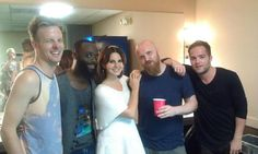Lana Del Rey and her band