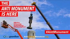 The ANTI MONUMENT IS HERE! #AntiMonument SEE Guardian News: http://antislaverymonument.org #NEWmonumentsmow