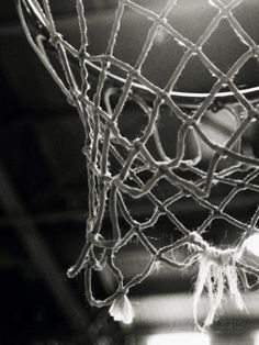 Close-up of a Basketball Net Photographic Print at AllPosters.com