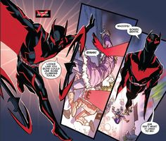 Dan Jurgens continues the Batman Beyond Rebirth we all want to see succeed as this issue brings a newly risen Joker vs. Terry McGinnis storyline to the table. Batman Redesign, Superhero Design, Batman Beyond, Dc Comics Characters, Batman Family, Batman Art, American Comics, Dc Heroes, Marvel Dc Comics