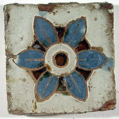 Pavement tiles   Spanish (Seville) (Andalusian)   The Met