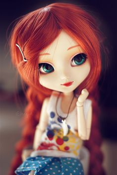 Lichi's new wig~ by neys., via Flickr