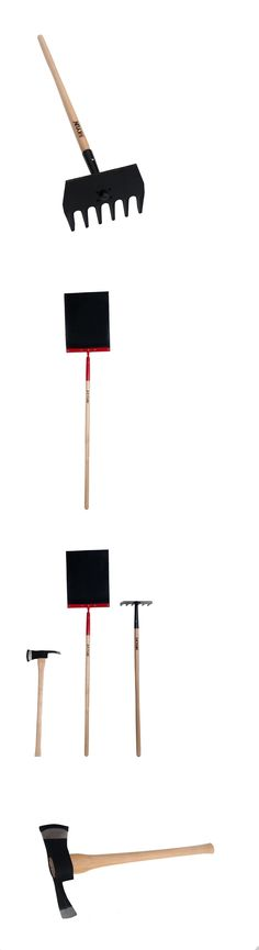Camping Shovels 75233: Firefighter Hand Tools 3 Pieces Include 3.5Lb Firefighter Axe 6T Fire Rake And M -> BUY IT NOW ONLY: $162.48 on eBay!