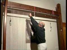 Como hacer un tapiz textil - Documental un fil sense fi - YouTube