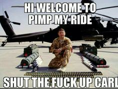 Find and save shut the fuck up carl Memes Military Jokes, Army Humor, Army Memes, Funny Images, Funny Pictures, Funny Jokes, Hilarious, Twisted Humor, Shut Up