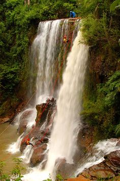 canyoning - Brotas, SP                                                                                                                                                     Mais