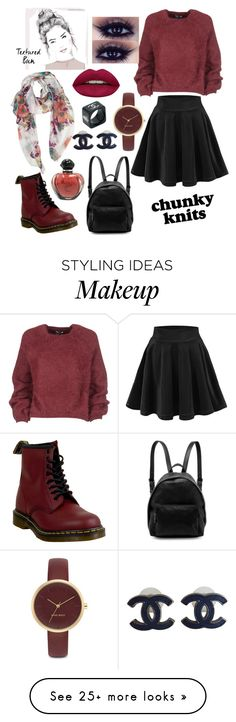 """""""Untitled #9"""" by jan-ice-2 on Polyvore featuring Dr. Martens, Tom Ford, STELLA McCARTNEY, Nine West, Chanel, Christian Dior and Huda Beauty"""