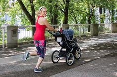 interval jogging with stroller