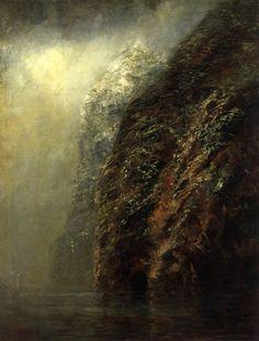 MEDNYÁNSZKY, László Hungarian painter (b. 1852, Beckó, d. 1919, Wien) View of Dunajec 1890-95 Oil on canvas, 98 x 73 cm Magyar Nemzeti Gal...