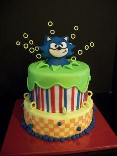 Cakes!  Sonic!