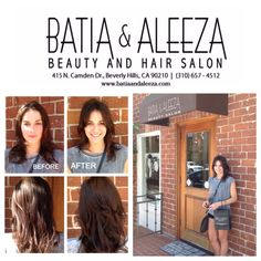 Gorgeous Lauren from Australia came to #batiaandaleeza for a day of #hair & #beauty