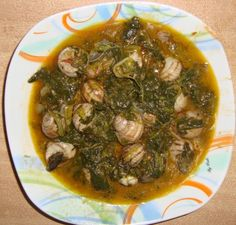GreekMasa - Σαλιγκάρια με σπανάκι