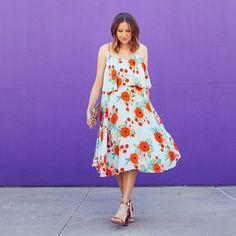 Poppy Field Dress #Anthropologie #MyAnthroPhoto