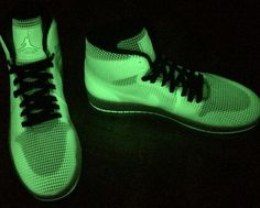 """On New Years Eve, Jordan Brand will unleash the final Retro release of the year – the Air Jordan 4Lab1 """"Glow"""". The trendy sneaker detail that lights up in darkness has been used sparsely on Air Jordans thus far, but … Continue reading →"""