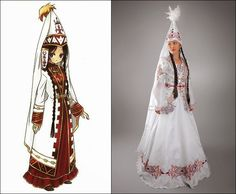 Traditional Clothes of Kazakhstan