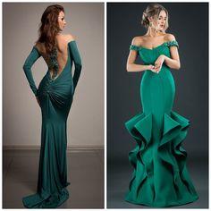 3d2aac03e8a Изумрудное платье. Как выбрать. Фото стильных моделей