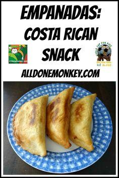 Costa Rican Snack: Empanadas - All Done Monkey