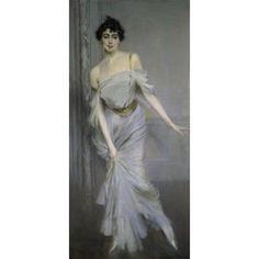 Madame Charles Max 1896 Giovanni Boldini (1845-1931Italian) Musee dOrsay Paris Canvas Art - Giovanni Boldini (18 x 24)
