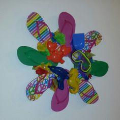 a-chan knits!: Summer Wreath!