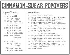 marshmallow crusted, cinnamon sugar dusted popover recipe card from @unrefinedsweetlife  www.unrefinedsweetlife.com