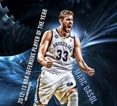 Marc Gasol - 12/13 NBA Defense MVP