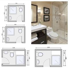 Tiny bathrooms 578290408389642289 - Bathroom Size and Space Arrangement – Engineering Discoveries Source by gosiaproux Small Bathroom Floor Plans, Small Bathroom Layout, Small Bathroom Dimensions, Small Shower Room, Tiny Bathrooms, Tiny House Bathroom, Master Bathrooms, Shared Bathroom, Behindertengerechtes Bad