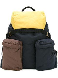 Marni рюкзак с карманами на молнии