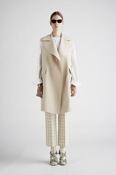20 NEW Fashion Designers To Discover #refinery29Agnona — After leaving Yves Saint Laurent, Stefano Pilati propped up Ermenegildo Zegna's sister label, Agnona. Not exactly new new (the label has been around for 60 years), it can be considered in year one of its phoenix-like rebirth, with slightly quirky silhouettes, season-less pieces, and prints — like that soft check! — that we can't get enough of.