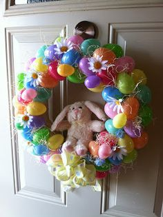 Simply Homemade: Simply DIY Easter Wreath