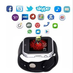 "GW05 1.54"" Screen Camera Smart Watch Phone 512MB Ram 4GB Rom 3G WIFI GPS Smart Watch for Android at Banggood"
