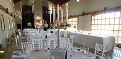 Chiavari chairs for hire at Mount Soho Venue